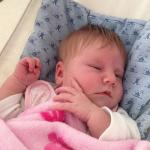 Baby Clara geboren im Geburtshaus Marburg