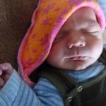 Baby Laurenz geboren im Geburtshaus Marburg