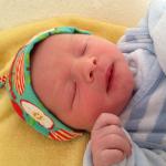 Baby Lennart geboren im Geburtshaus Marburg