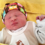 Baby Samuel geboren im Geburtshaus Marburg