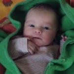 Baby Trudi geboren im Geburtshaus Marburg