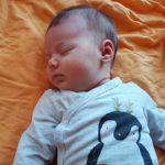 Emilia geboren im Geburtshaus Marburg
