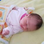 Baby Maja geboren im Geburtshaus Marburg