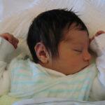 Baby Nael geboren im Geburtshaus Marburg