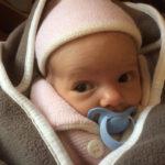 Baby Rebecca geboren im Geburtshaus Marburg