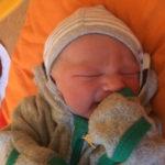 Alwin geboren im Geburtshaus Marburg