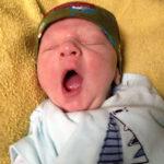 Baby Emilian geboren im Geburtshaus Marburg