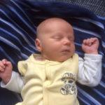 Baby Jannes geboren im Geburtshaus Marburg