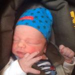 Baby Malte geboren im Geburtshaus Marburg