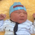 Baby Matthias geboren im Geburtshaus Marburg