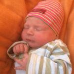 Baby Remy geboren im Geburtshaus Marburg