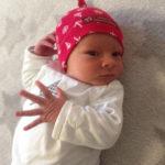 Baby Johann geboren im Geburtshaus Marburg