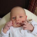 Baby Mika geboren im Geburtshaus Marburg