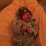Baby Vigo geboren im Geburtshaus Marburg