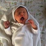 Baby Carlotta geboren im Geburtshaus Marburg