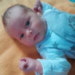 Baby Jonas geboren im Geburtshaus Marburg