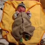 Baby Mathilda geboren im Geburtshaus Marburg