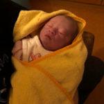 Baby geboren im Geburtshaus Marburg