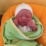 Baby geboren im Gebursthaus Marburg
